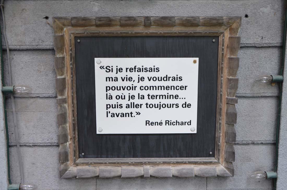 René Richard à Baie Saint Paul