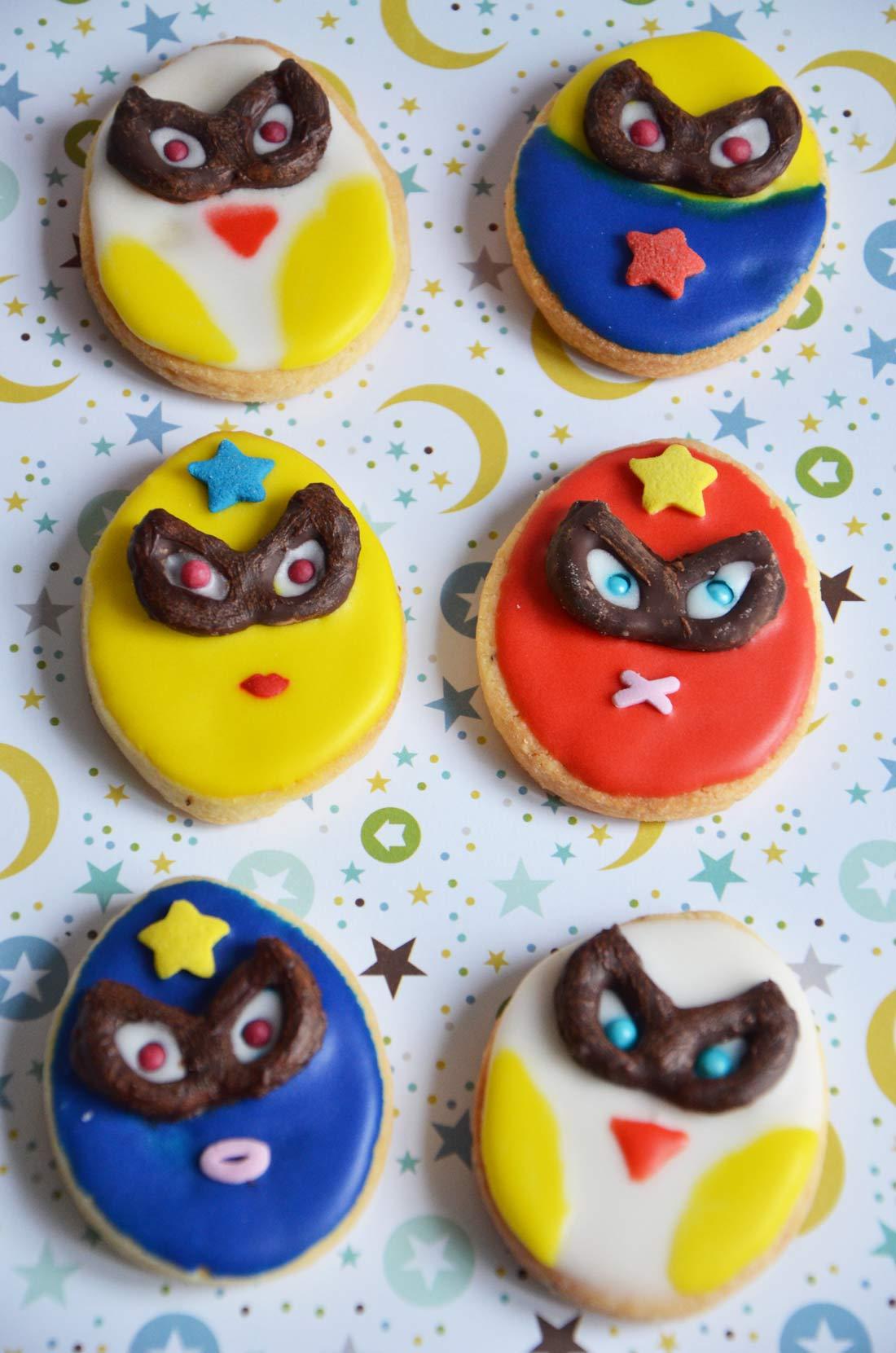 biscuits super héros