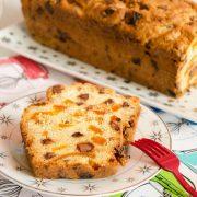 cake pépites de chocolat abricots moelleux