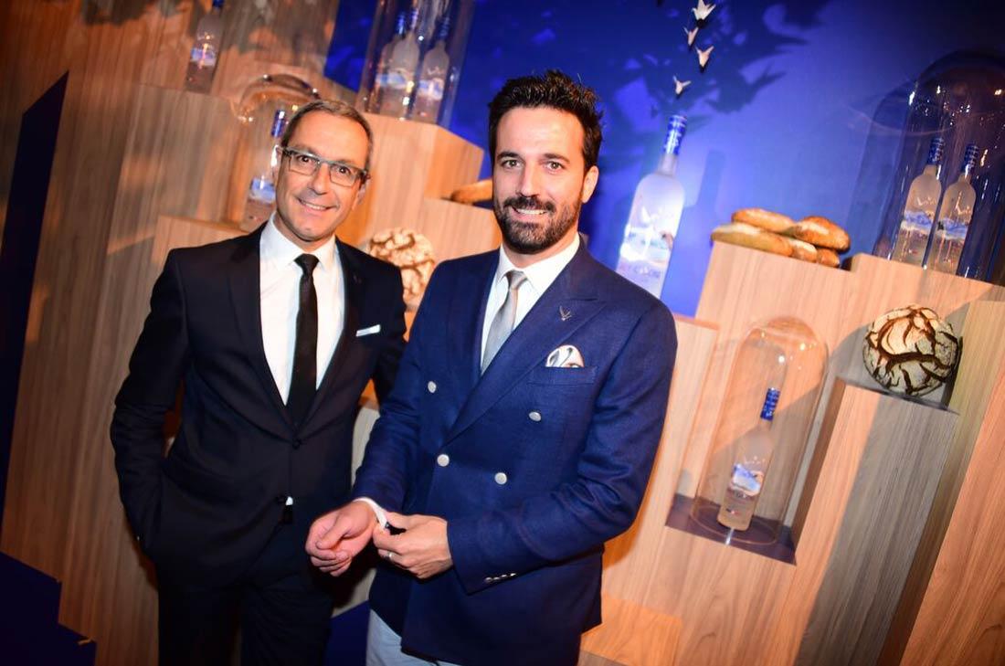 Claudio Bedini et Francois Thibault