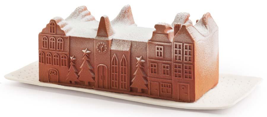 Bûche glacée chocolat Picard