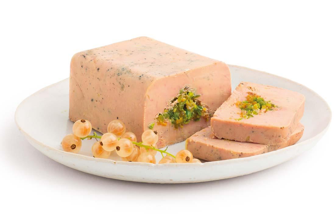 Foie gras mirabelle pistache Picard 2015