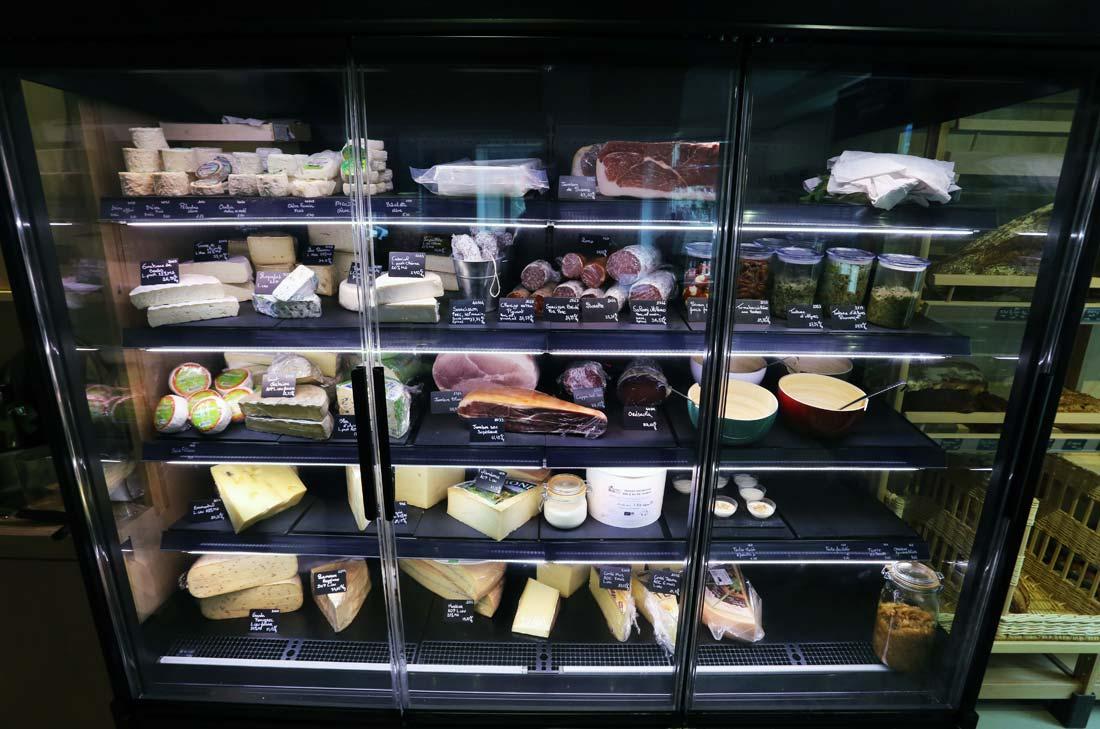 charcuterie et fromage à la coupe au Biocoop21