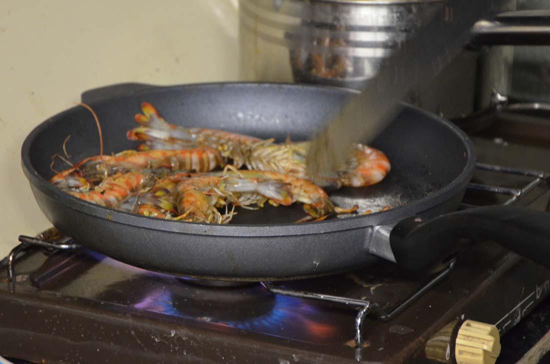 cuisson crevettes impériales