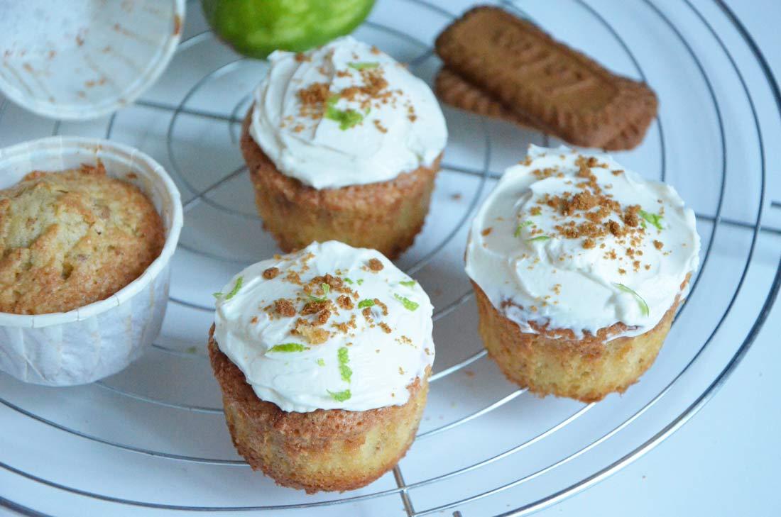 cupcakes spéculoos citron vert