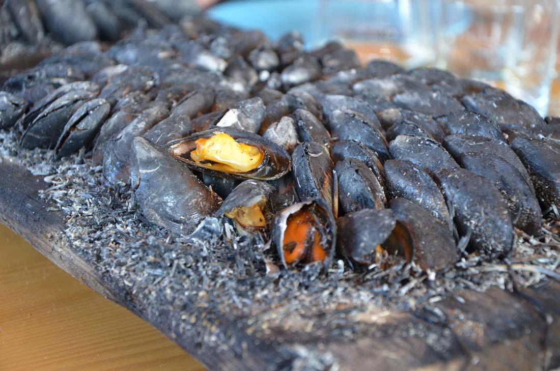 Crevettes impériales et éclade de moules avec Fabrice Gass