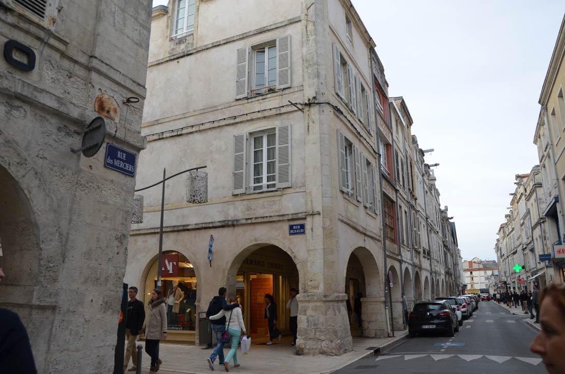 façades à la Rochelle
