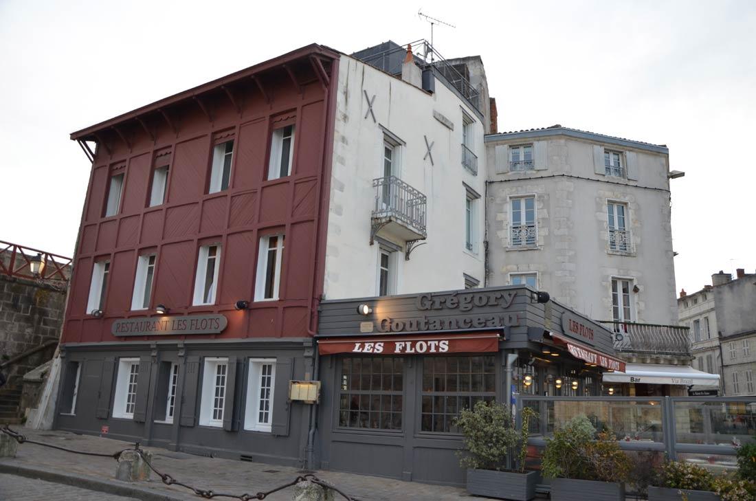 Restaurant Les Flots de Grégory Coutanceau