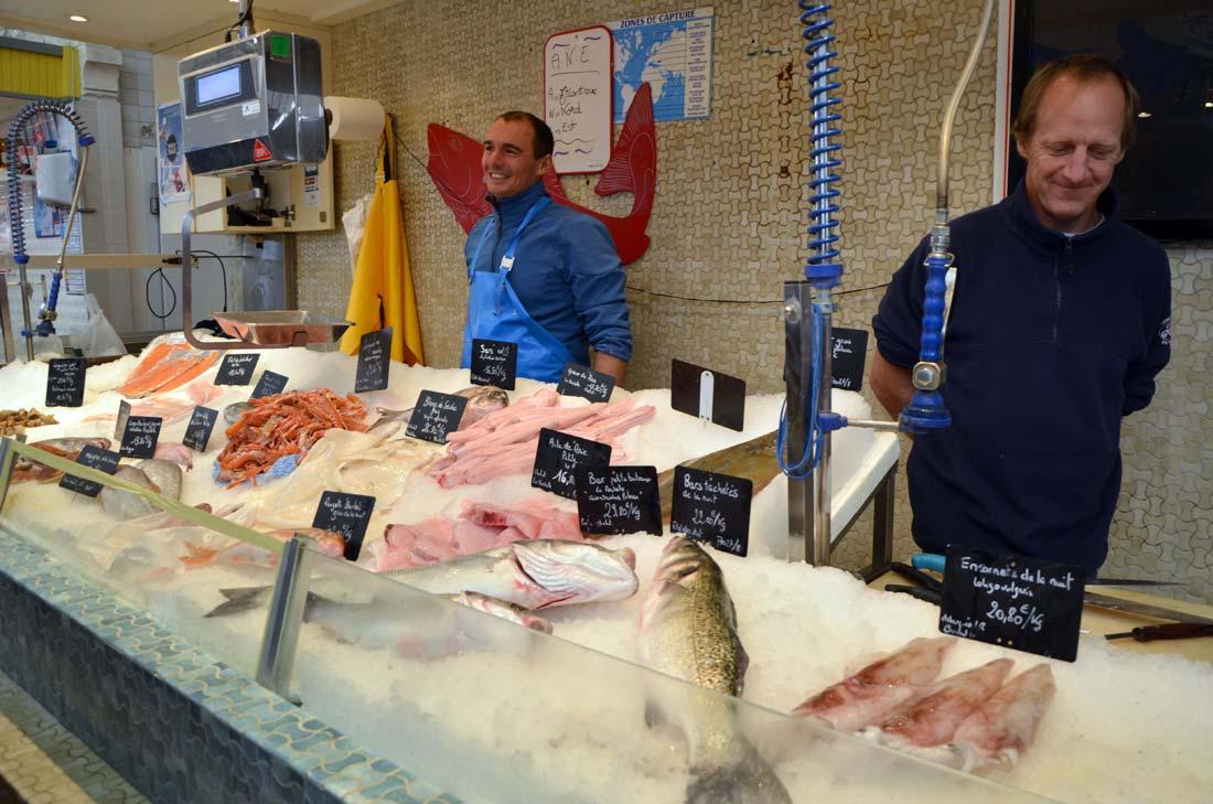 Poissonnerie des halles de la Rochelle