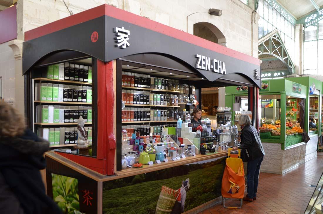 Zen-cha aux halles de la Rochelle