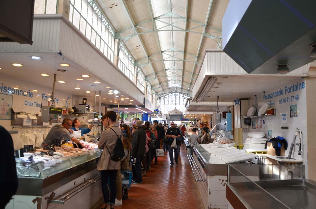 marché couvert de la Rochelle