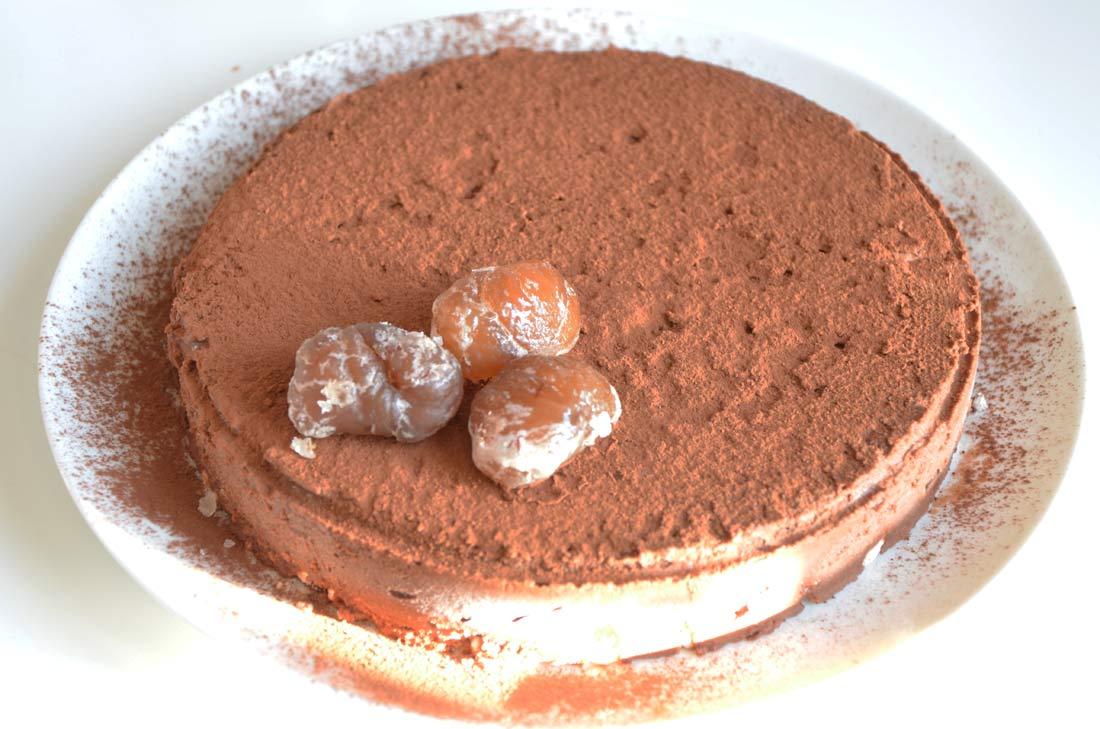 Parfait glac marrons chocolat - Very parfait chocolat blanc ...