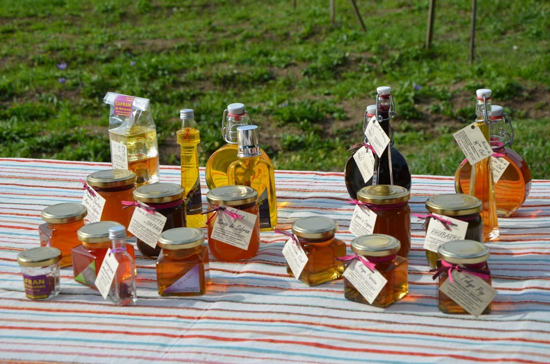 produits issus du safran de Marennes