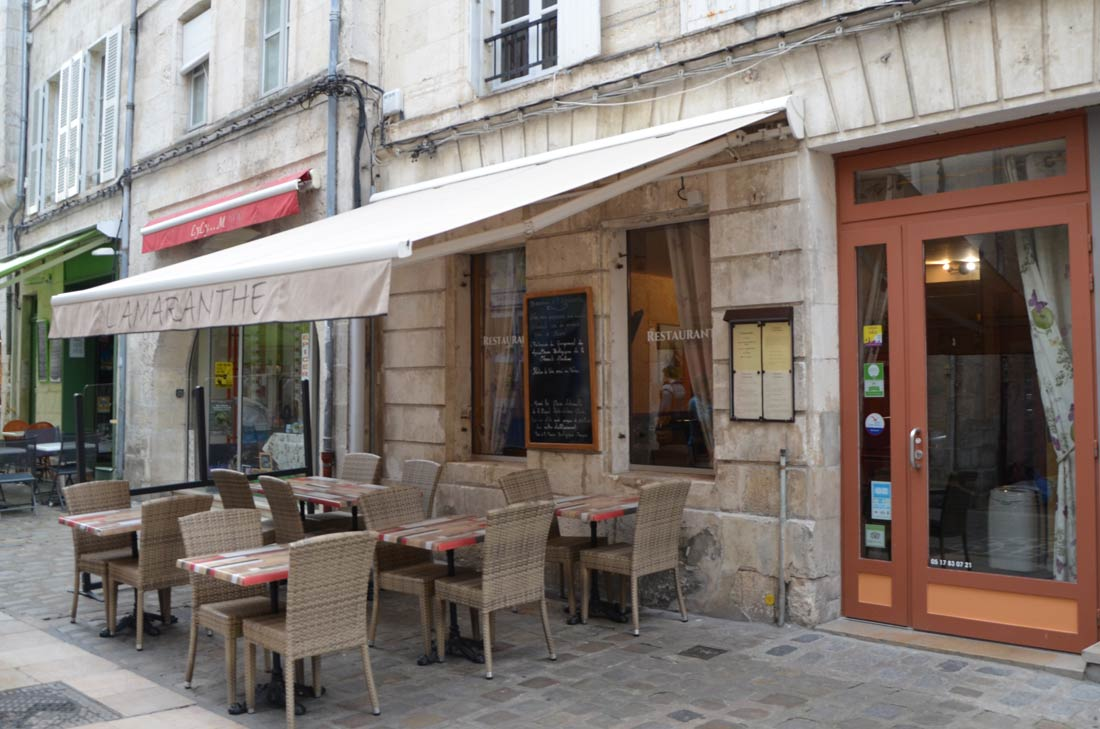 restaurant l'Amaranthe
