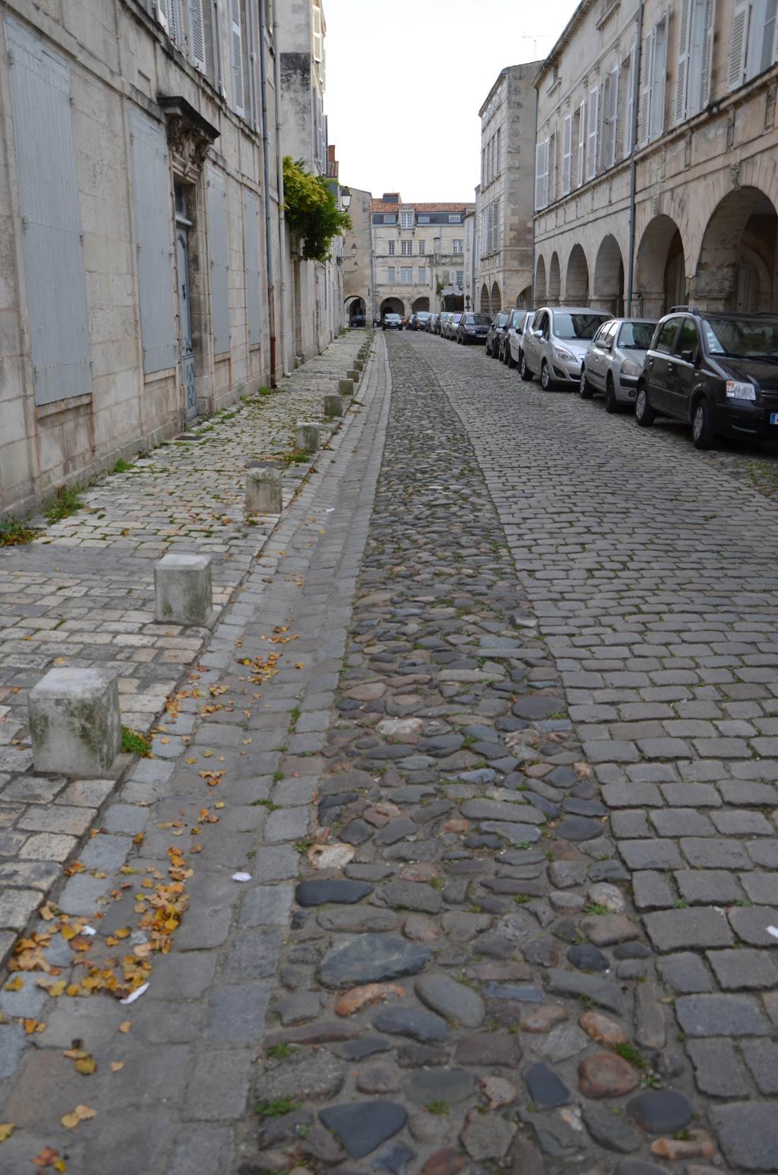 rue de l'escale à la Rochelle
