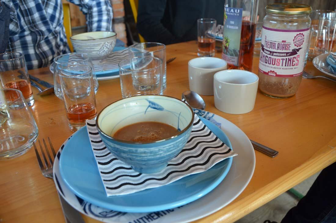 soupe de poissons La Trembladaise
