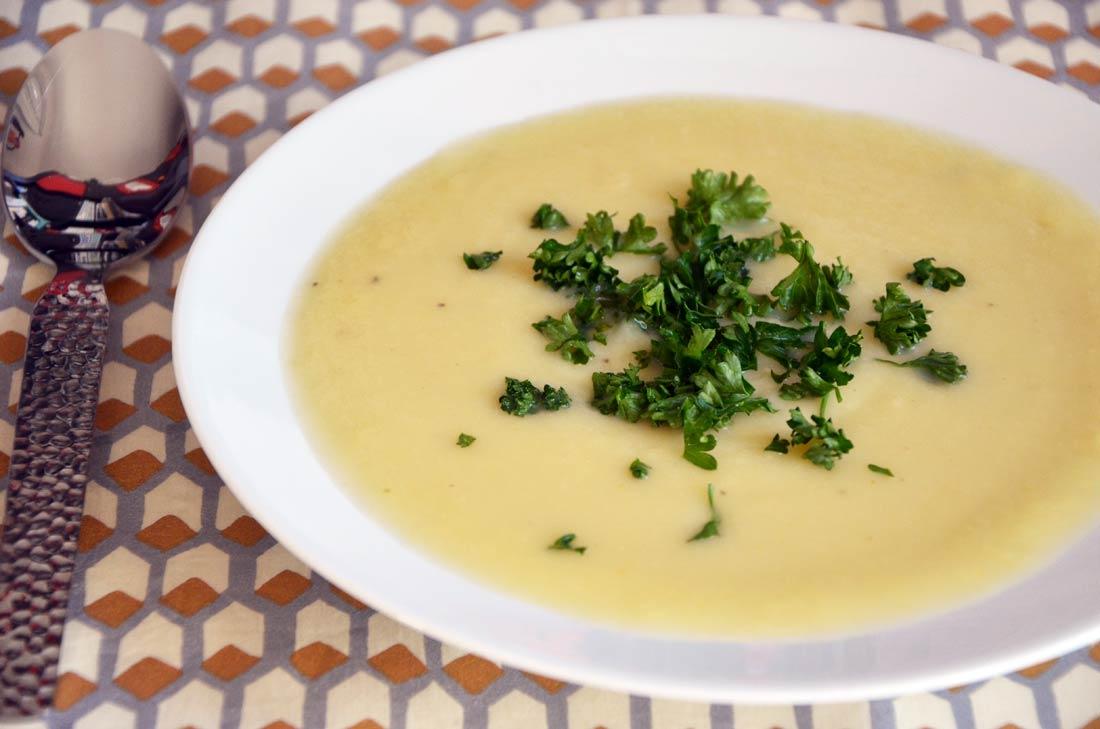 soupe panais poireaux