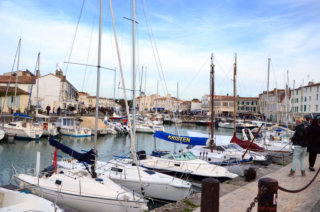 port de Saint-Martin en Ré