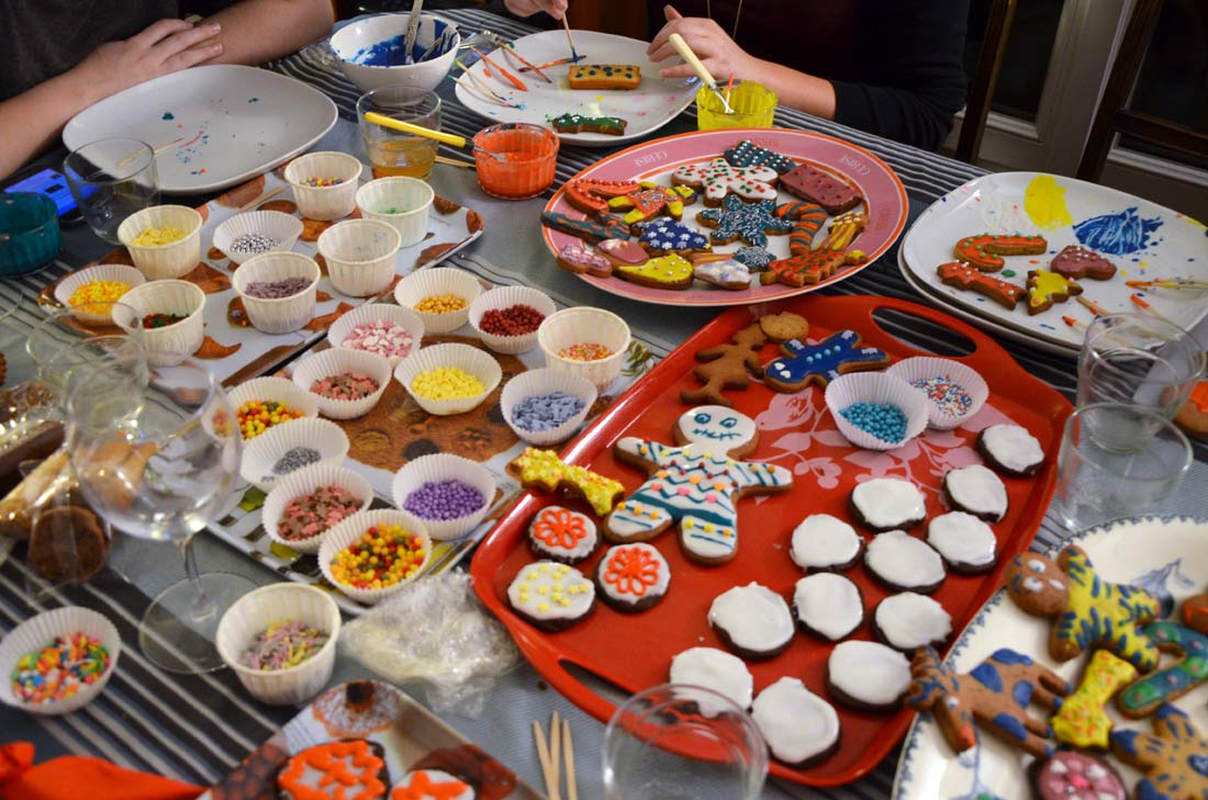 atelier biscuits de Noël