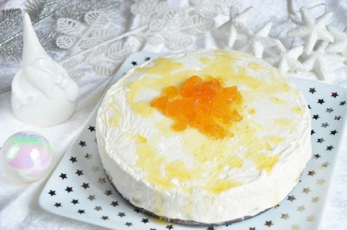 Cheesecake pomme safran