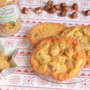 cookies sucre d 'érable noisettes