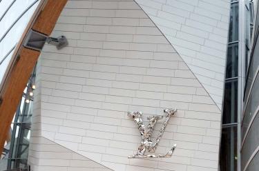 Entrée Fondation Louis Vuitton