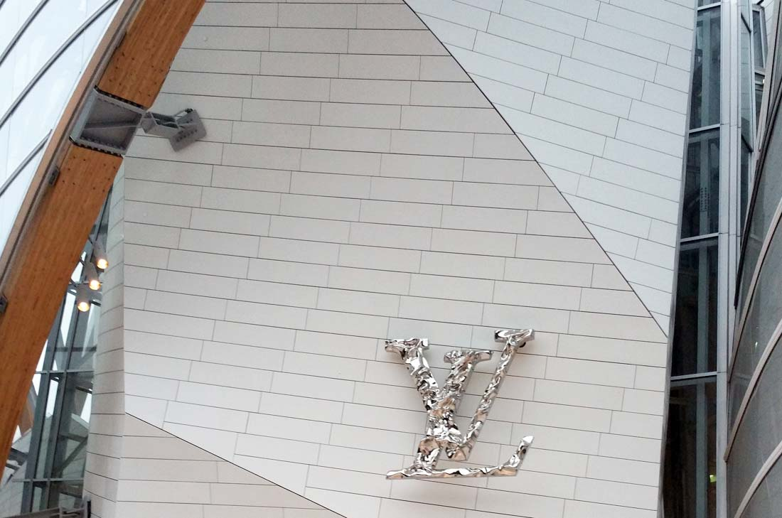 Entrée Fondation Louis Vuitton