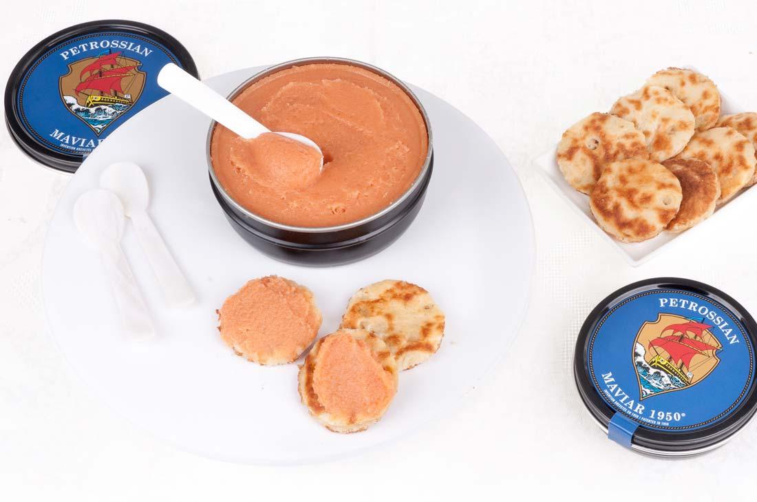 cadeaux gourmands à offrir pour Noël : le maviar de chez Petrossian