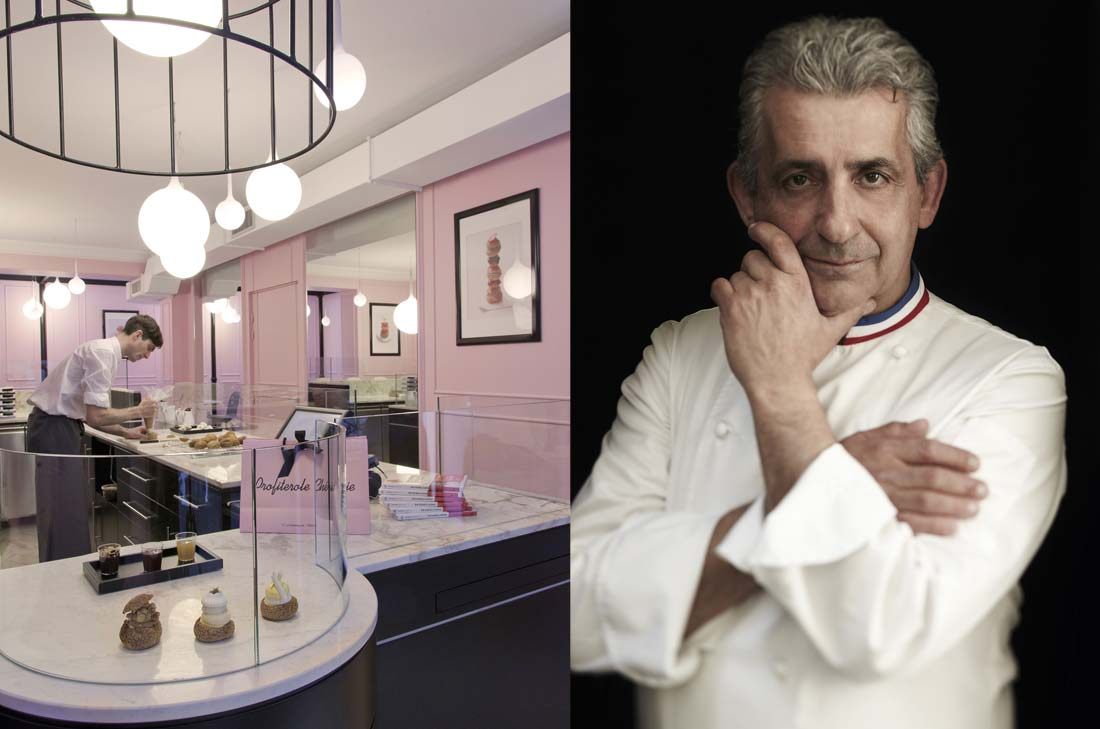 Le Chef pâtissier Philippe Urraca