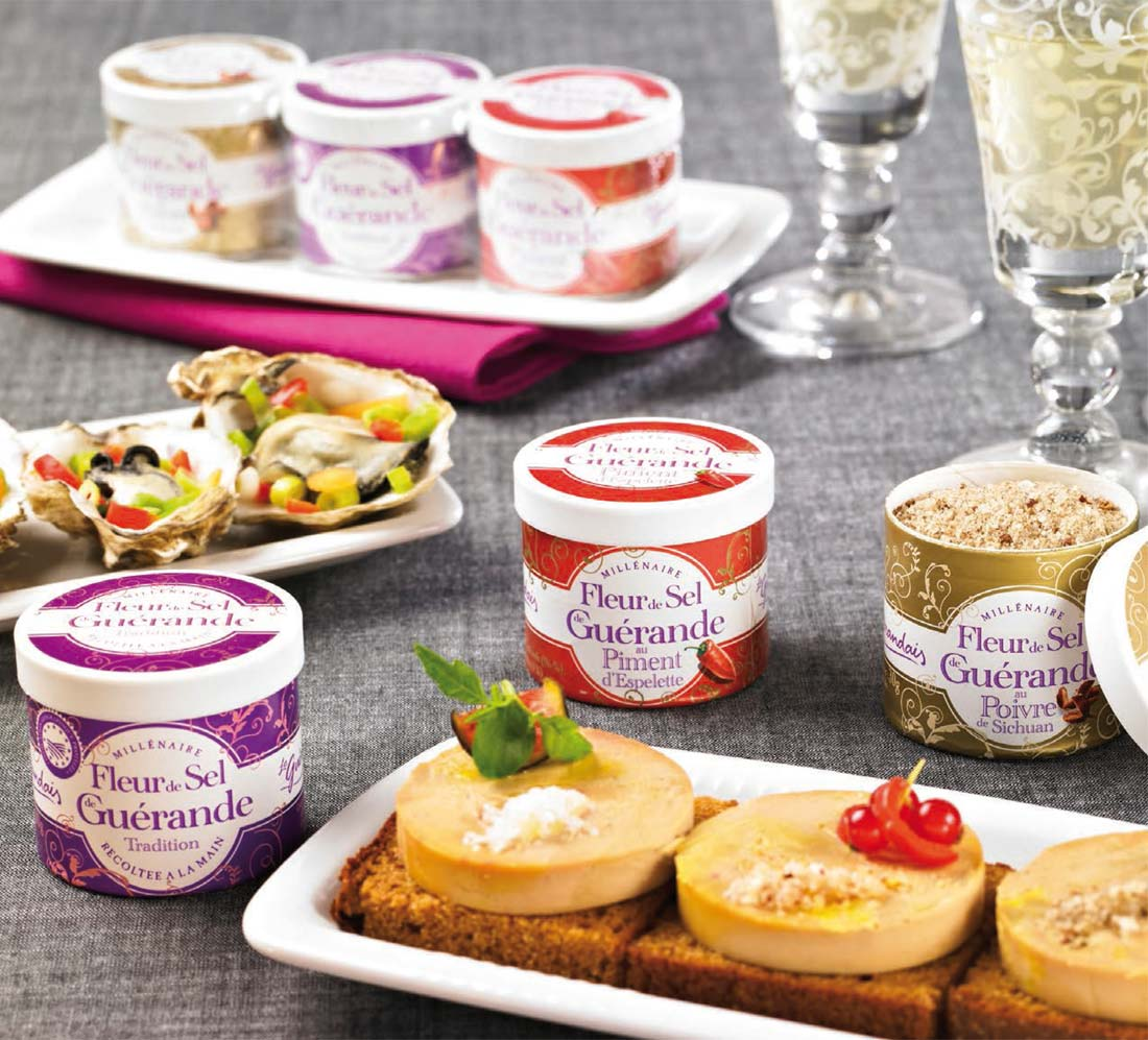 aides culinaires : sel de Guérande