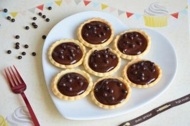 tartelettes chocolat caramel