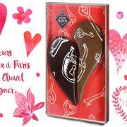Coeurs amoureux à Paris de Michel Cluizel