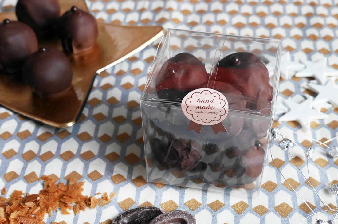 Rochers pralinés croustillants : un joli cadeau gourmand
