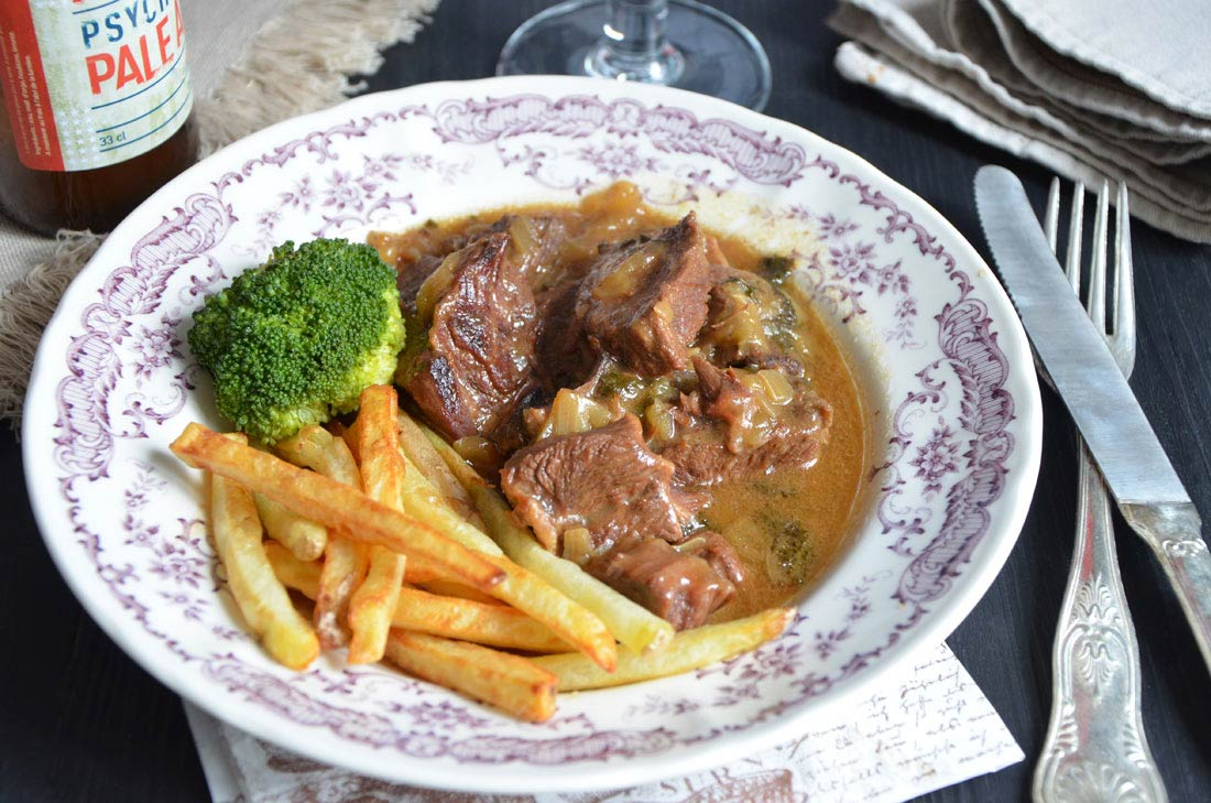 la recette de carbonade flamande de paul bocuse. Black Bedroom Furniture Sets. Home Design Ideas