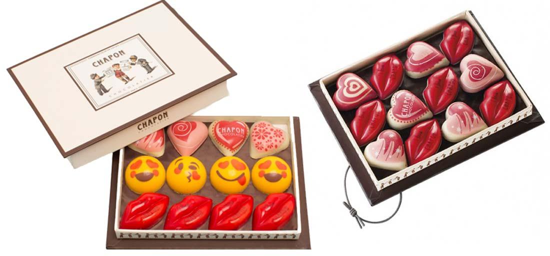 Chocolatier Chapon pour la Saint Valentin