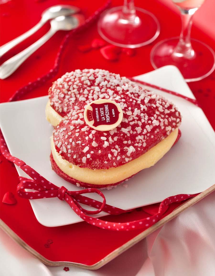 La Tarte Tropézienne s'habille en rouge pour la Saint Valentin 2016