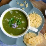soupe de blettes gratinée