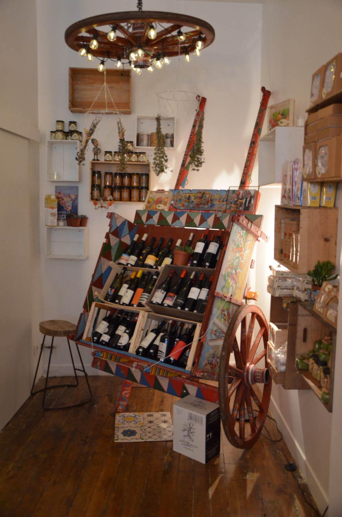 sélection de vins de la Rusidda