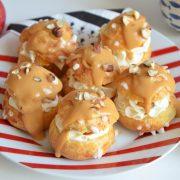 chouquettes pommes caramel