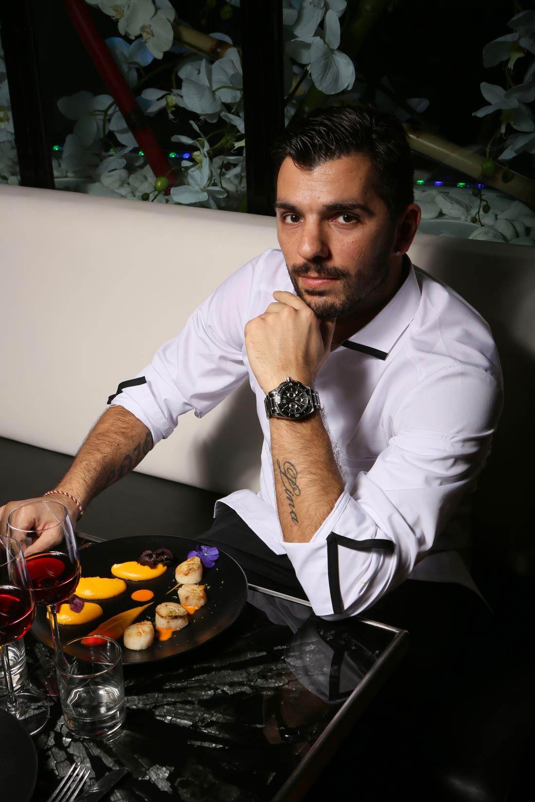 Hugo Pinto, Chef du restaurant Miam