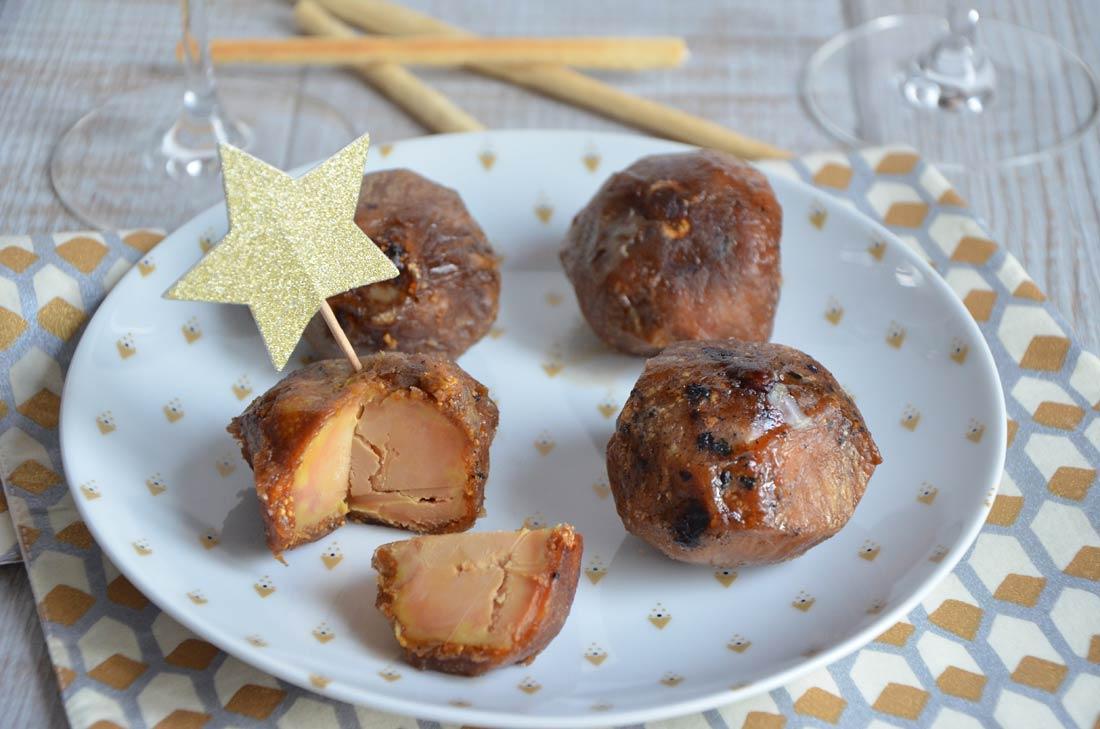 figues au foie gras de la famille Tribier achetées au Pari Fermier
