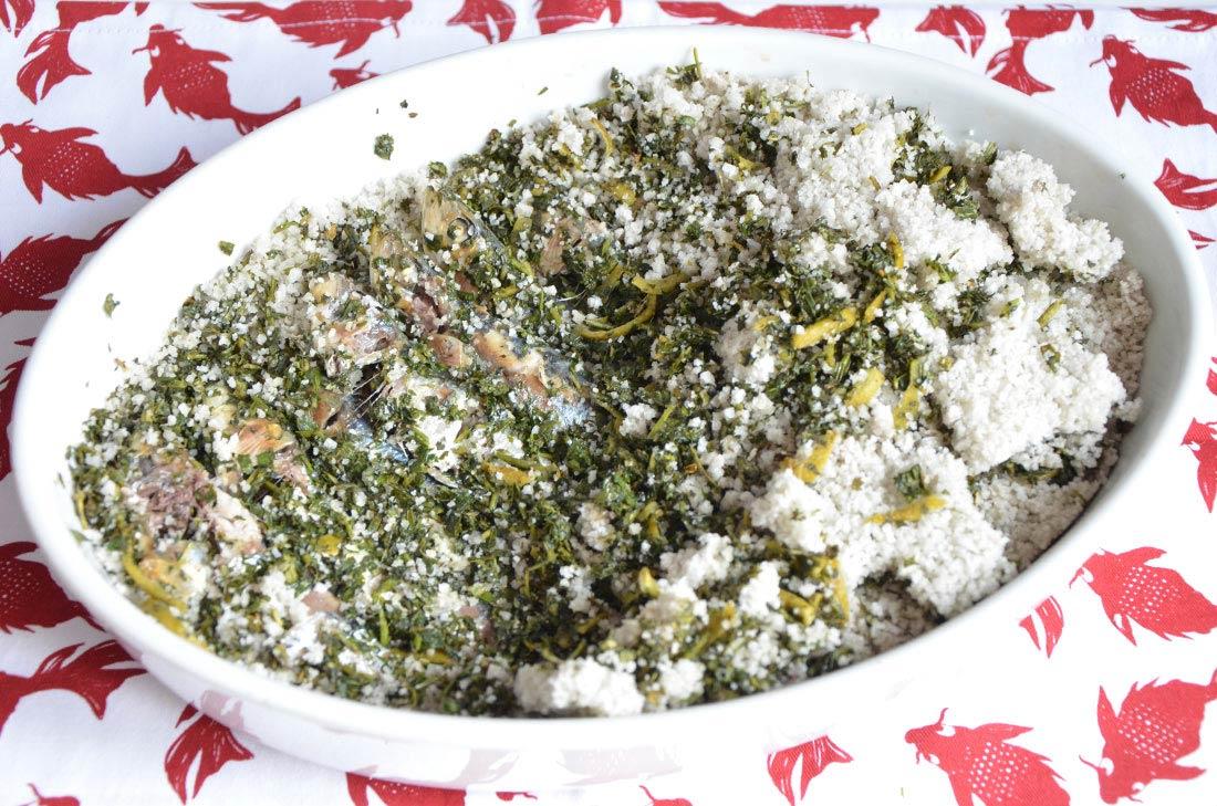 sardines en cro te de sel aux herbes