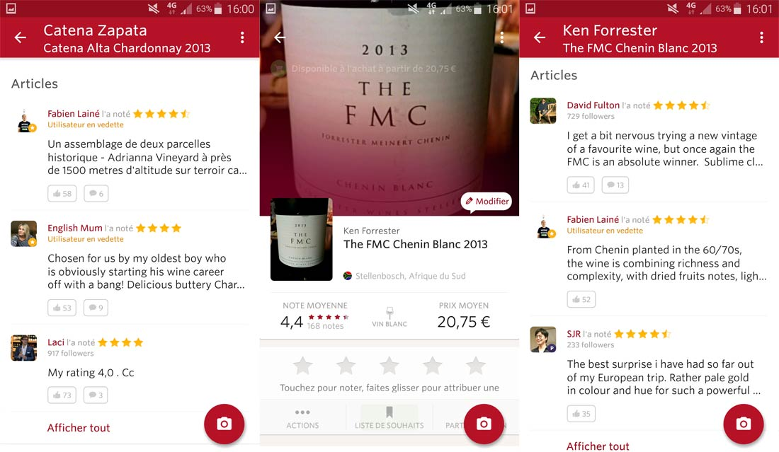 application Vivino