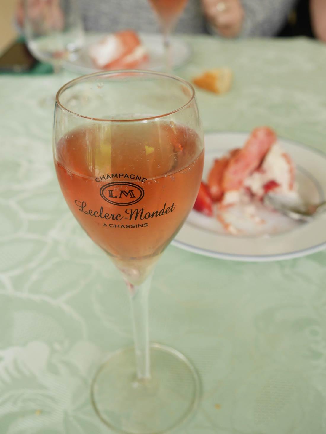 champagne rosé Leclerc Mondet