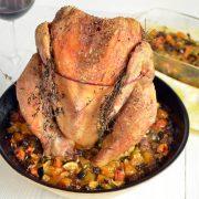 mon poulet du dimanche rôti au cuit poulet Tousseau