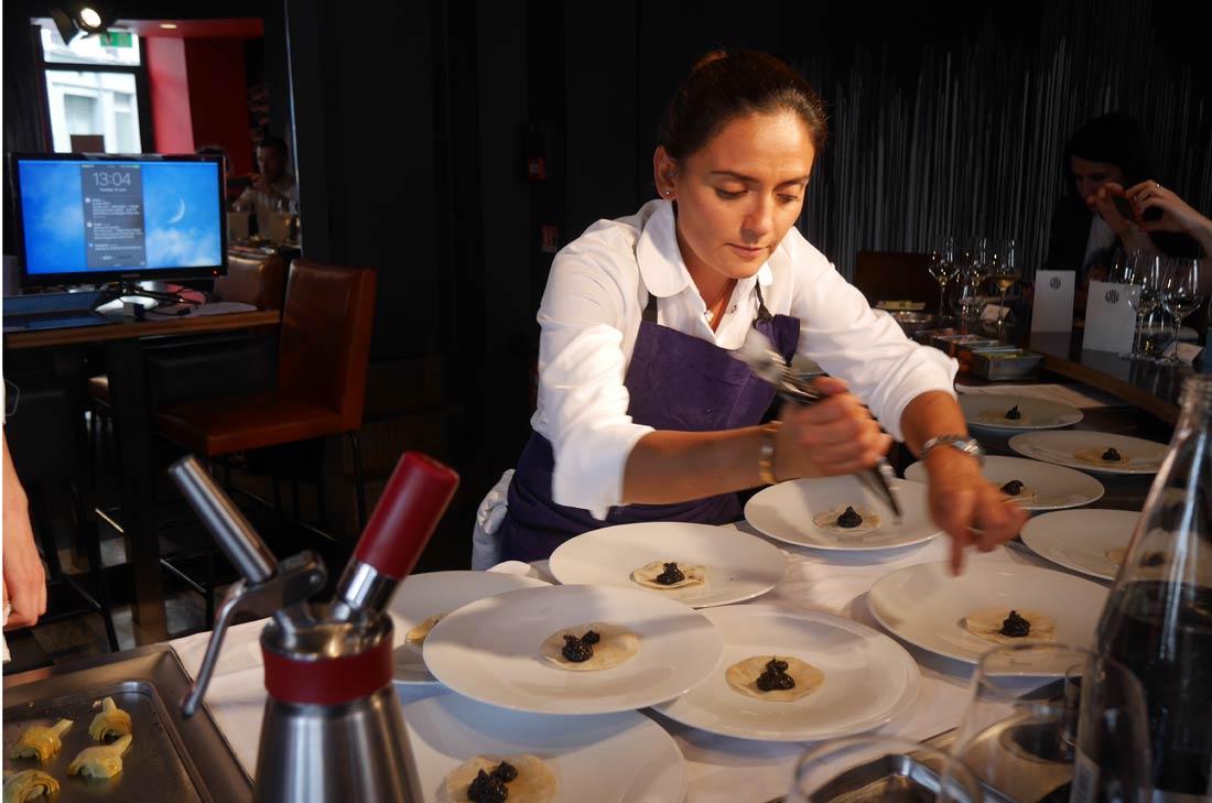 déjeuner Vivino Beatriz Gonzalez