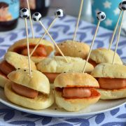 Mini hot dogs