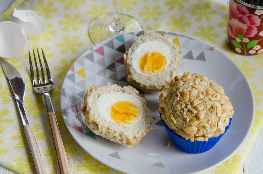 scottish eggs, oeufs écossais ou oeufs surprises