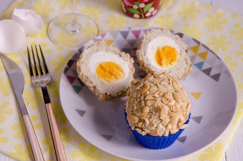 scottish eggs, oeufs écossais ou oeufs surprise