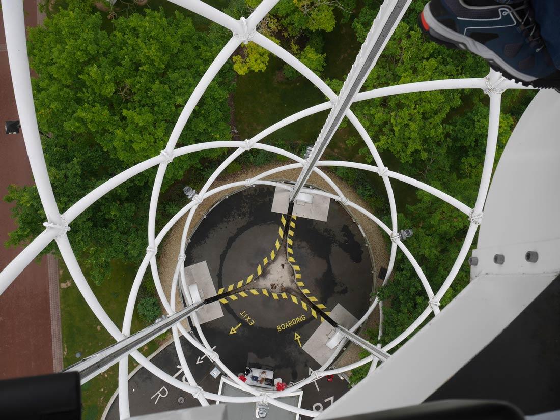 l'aérobar du Futuroscope